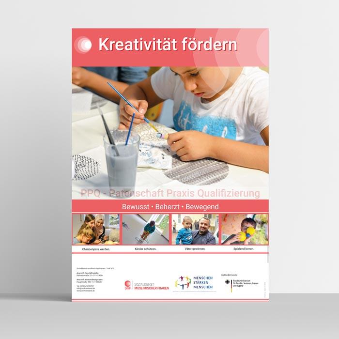 KREATIVITÄT - Plakat