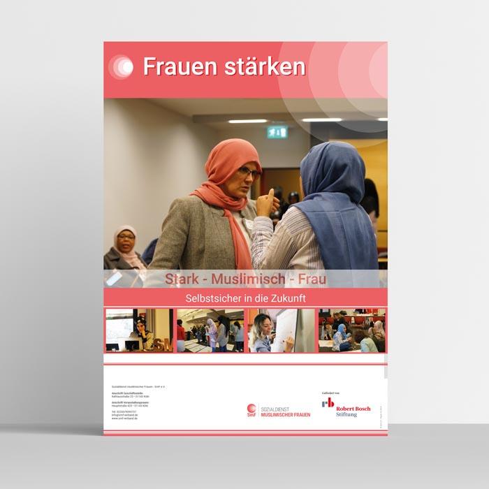 FRAUEN STÄRKEN - Plakat