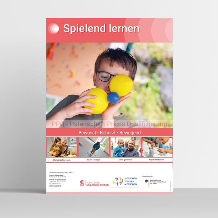 SPIELEND LERNEN - Plakat
