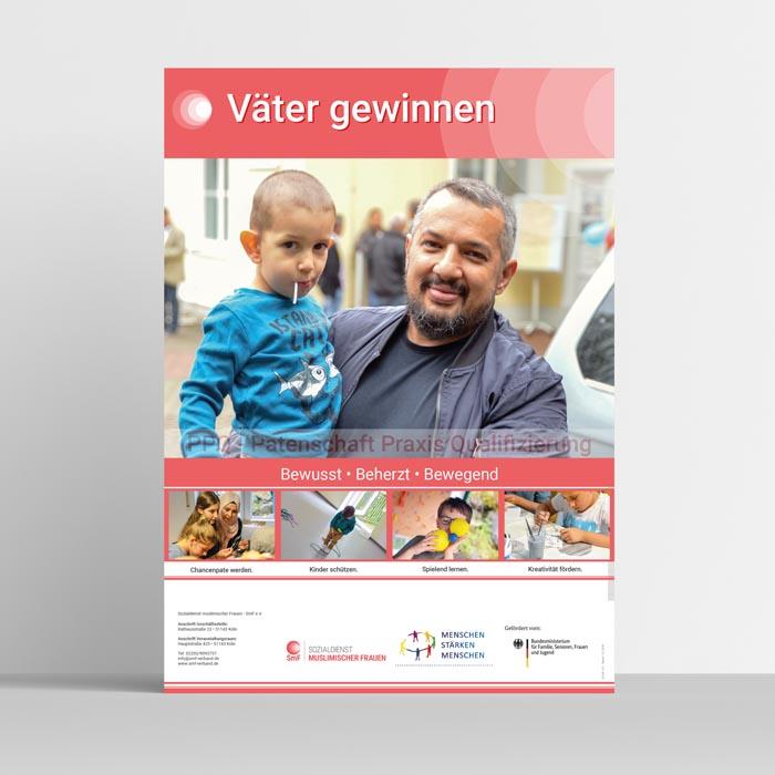 VÄTER GEWINNEN - Plakat