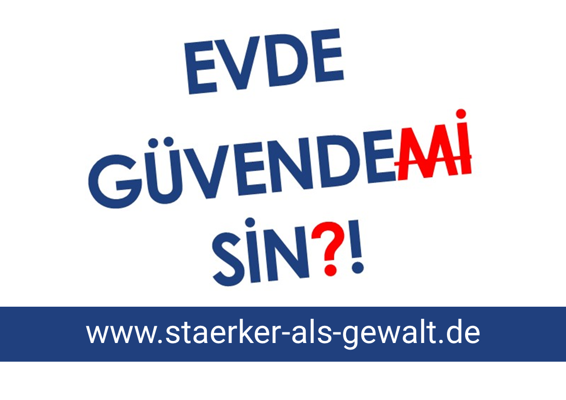 "SmF nimmt an Kampagne ""Stärker als Gewalt"" teil"