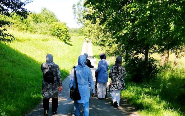 Planning by Walking- Frauenwanderung am Stadtweiher