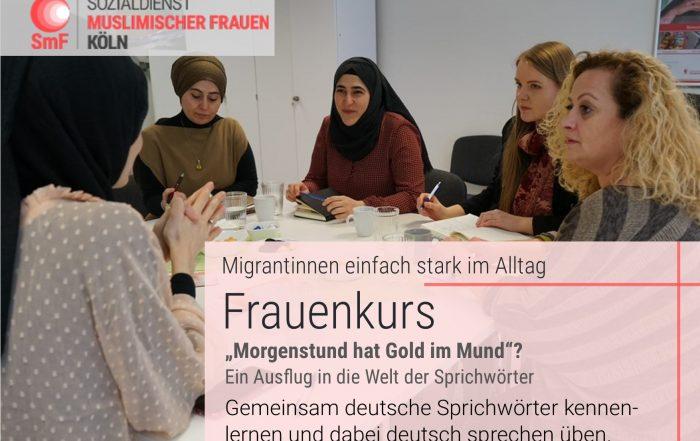 Frauenkurs: Migrantinnen einfach stark im Alltag