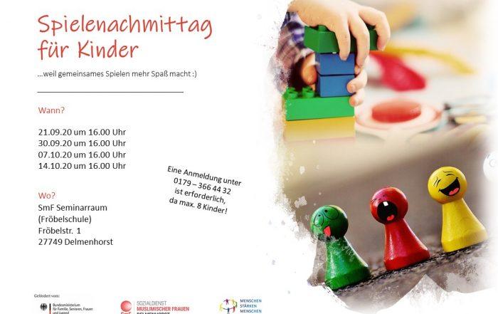 Spielenachmittag für Kinder